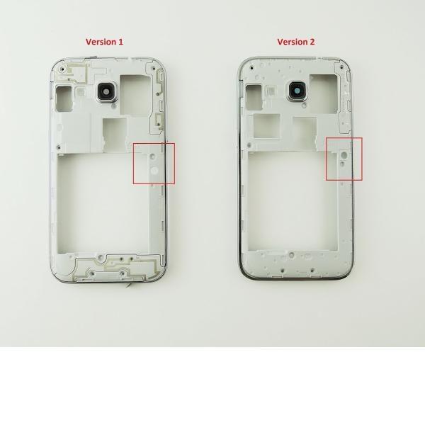e62e369460e Carcasa Intermedia Con Lente De Cámara para Samsung Galaxy Core Prime G360f  – V.1