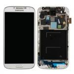 Pantalla Completa LCD Y Táctil Con Marco para Samsung Galaxy S4 I9505 – Blanco