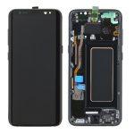 Pantalla Completa Original LCD Y Táctil Con Marco para Samsung G950f Galaxy S8 - Negro