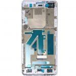 Carcasa Frontal De Pantalla LCD para BQ Aquaris M4.5 Aquaris A4.5 - Blanco