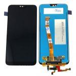 Pantalla Completa LCD Y Táctil Con Flex De Huella para Huawei Honor 10 (5.84) – Negro