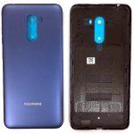 Tapa Trasera De Batería para Xiaomi Pocophone F1 – Azul Liso