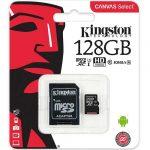 Tarjeta Memoria De Kingston microSD de 128GB Clase 10