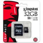 Tarjeta Memoria De Kingston microSD de 32GB Clase 10