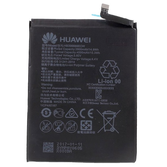 Batería HB396689ECW Huawei Mate 9 Mate 9 Pro 4000mAh