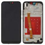 Pantalla Completa Con Marco LCD Y Táctil para Huawei P20 Lite - Negro