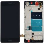 Pantalla Completa LCD Y Táctil Con Marco para Huawei Ascend P8 Lite - Negro