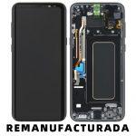 Pantalla Completa Reparada LCD Y Táctil Con Marco para Samsung G955f Galaxy S8 Plus - Negro Cambiado Cristal 222