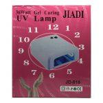 Lampara Ultravioleta / Secador de Uñas y Pegamento UV JIDI JD-818