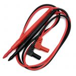 Cables De Pruebo para Multimetro Con Punto Extrafino