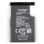 Batería BL4C BL-4C para Nokia 1202 1265 1325 5100 6100 De 860mAh