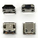 CC65 Conector De Carga Micro USB