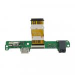 Flex De Conector De Carga Micro USB para Huawei MediaPad 10 Link S10-201 - Verde