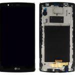Pantalla Completa Con Marco LCD Y Táctil para LG G4 H815 – Negro