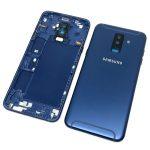 Tapa Trasera De Batería para Samsung Galaxy A6 Plus 2018 A605F - Azul Oscuro