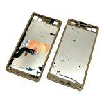 Carcasa Intermedia para Sony Xperia M5 (E5603 E5606 E5653 Dual E5633 E5646 E5663) - Oro