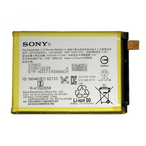 Batería Lis1605erpc Original Para Sony Xperia Z5 Premium E6853 E6883 De 3430mah Movilrepuestos Es