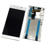 Pantalla Completa Original LCD Y Táctil Con Marco para Sony Xperia L1 G3311 - Blanco