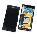 Pantalla Completa Original LCD Y Táctil Con Marco para Sony Xperia M4 Aqua (E2303 E2306 E2312 E2333) – Negro