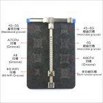 [SS-601B] Fijador De Placa Base Universales Con Huecos De Depósito De Chip iPhone Marca SUNSHINE