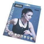 Auriculares Inalámbricas Bluetooth Estilo Deportivo - Negro (2)