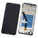 Pantalla Completa LCD Y Táctil Con Marco para Huawei Y6 2019 - Negro