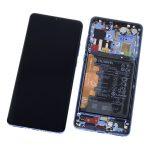 Pantalla Completa LCD Y Táctil Con Marco Y Piezas para Huawei P30 Pro - Azul Original (Service Pack)