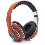 [V33] Cascos Auriculares Inalámbricos De Estéreo BT5.0 - Oro Rosado