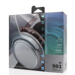 [VJ901] Cascos Auriculares Inalámbricos De Estéreo BT5.0 De 200mAh – Plata (2)