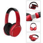 [VJ901] Cascos Auriculares Inalámbricos De Estéreo BT5.0 De 200mAh - Rojo (1)