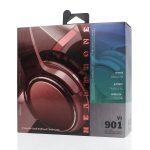 [VJ901] Cascos Auriculares Inalámbricos De Estéreo BT5.0 De 200mAh - Rojo (2)