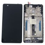 Pantalla Completa Original Con Marco LCD Y Táctil para BQ Aquaris E5 4g E5s 0982 - Negro