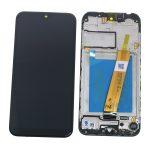 Pantalla Completa LCD Y Táctil Original Con Marco para Samsung Galaxy A01 2020 A015F - Negro