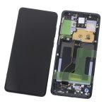Pantalla Completa LCD Y Táctil Original Con Marco para Samsung Galaxy S20 Plus 5G (2020) G986F - Negro