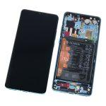 Pantalla Completa LCD Y Táctil Con Marco Y Piezas para Huawei P30 Pro - Aurora Original (Service Pack)