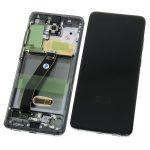 Pantalla Completa LCD Y Táctil Original Con Marco para Samsung Galaxy S20 (2020) G980F – Negro