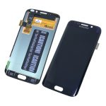 Pantalla Completa LCD Y Táctil para Samsung Galaxy S6 Edge G925f - Azul Negro Remanufacturada Sin Marco