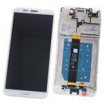 Pantalla Completa Con Marco LCD Y Táctil para Huawei Y5 2018 Y5 Lite 2018 Y5 Prime 2018 Honor 7S - Blanco