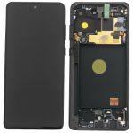 Pantalla Completa LCD Y Táctil Original Con Marco para Samsung Galaxy Note 10 Lite (2020) N770F – Negro