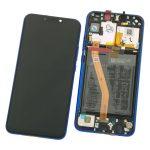 Pantalla Completa Original LCD Y Táctil Con Marco para Huawei P Smart Plus Nova 3i – Azul (Service Pack)