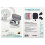 [M10] Auriculares Inalámbricas TWS BT5.0 De 50mAh Con Estucho De Carga 450mAh 22