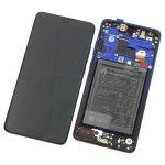 Pantalla Completa Original LCD Y Táctil Con Marco Y Piezas para Huawei Mate 20 - Azul (Service Pack)