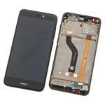 Pantalla Completa Original LCD Y Táctil para Huawei P8 Lite 2017 - Negro (Service Pack) Sin Batería