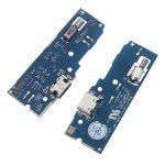 Placa De Conector De Carga USB Tipo-C Con Micrófono para Sony Xperia L2