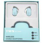[WF-950BT] Auriculares Inalámbricas TWS BT5.0 De 55mAh Con Estucho De Carga 450mAh - Azul