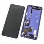 Pantalla Completa LCD Y Táctil Con Marco para Xiaomi Mi Note 10 Lite - Morado