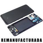 Pantalla Completa LCD Y Táctil Original para Samsung Galaxy A50 2019 A505F - Negro Remanufacturada