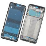 Carcasa Frontal De LCD para Xiaomi Redmi Note 9S - Plata
