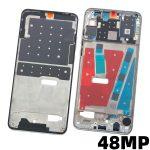Carcasa Intermedia De Pantalla LCD para Huawei P30 Lite - Plata 48MP