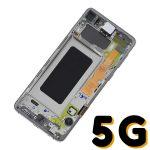 Pantalla Completa LCD Y Táctil Original para Samsung Galaxy S10 5G G977F - Blanco
